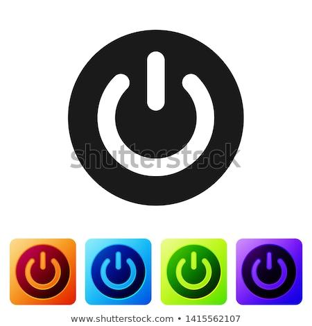 電源 · ボタン · ビジネス · 抽象的な · 光 - ストックフォト © rizwanali3d