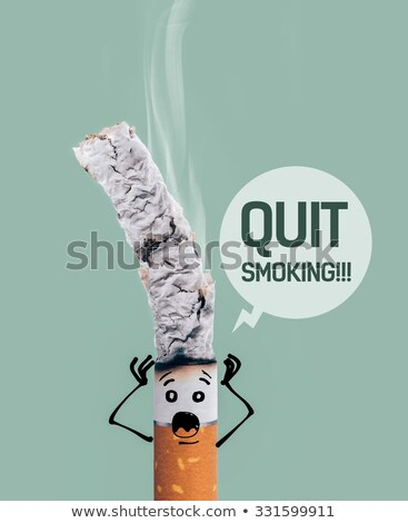 cigarro · ardente · fumar · verde · morte - foto stock © stokkete