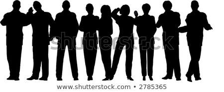 działalności · tłum · wektora · ludzi · kobiet - zdjęcia stock © Paha_L