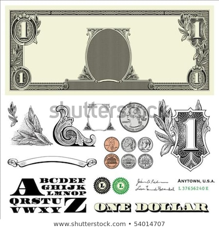 set of one dollars Stock photo © Paha_L