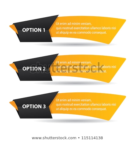 1 Number Vector Yellow Web Icon Stock photo © rizwanali3d