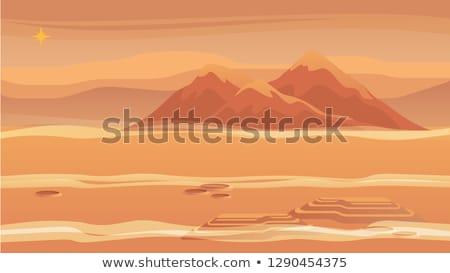 Terep föld légifelvétel természet háttér Föld Stock fotó © Suljo