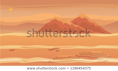 arenoso · planeta · terra · areia · cascalho · forma - foto stock © suljo