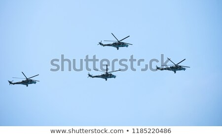 A group of helicopters Stock photo © bluering