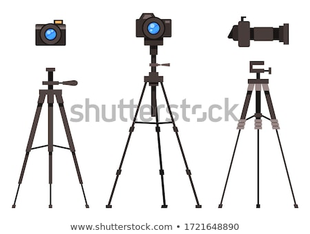 photo camera on tripod stock photo © dmitroza