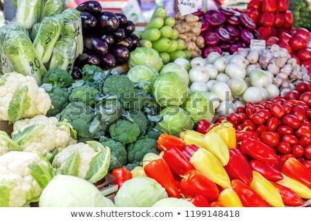 fresco · maduro · rua · mercado · comida - foto stock © smuki