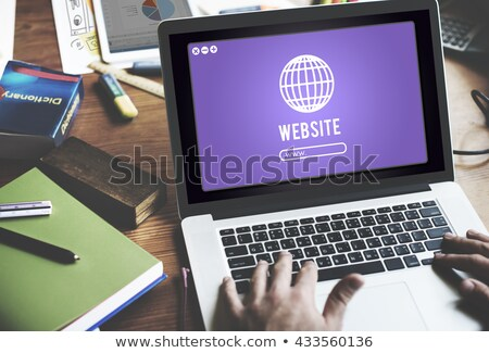 Http icon with highlight Stock photo © Oakozhan