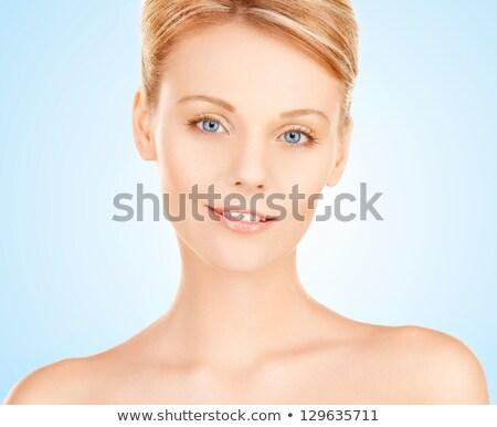 Portrait of an alluring, young, blond woman Stock photo © konradbak