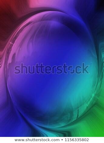 Ilustración resumen colorido negro 3d Foto stock © tussik