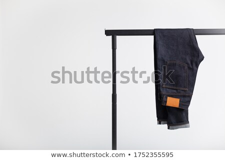 Selvedge denim jeans closeups Stock photo © tekso