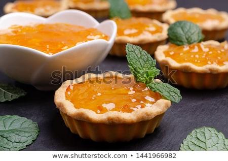 clementine or orange tart Stock photo © M-studio