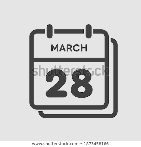28th March Stock photo © Oakozhan