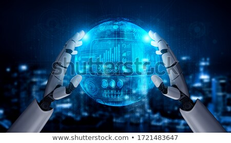Intelligent geld financiële verstand hoofd Stockfoto © Lightsource