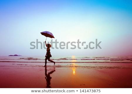 silhouette concept of inspiration in creativity Stock photo © Olena