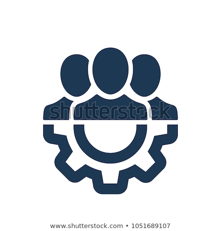team · manager · vector · icon · stijl - stockfoto © ahasoft