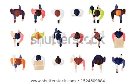 kleding · illustratie · vector · geïsoleerd · witte · business - stockfoto © dejanj01