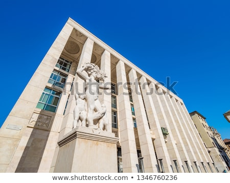 Prefettura di Bergamo in Italy Stock photo © boggy