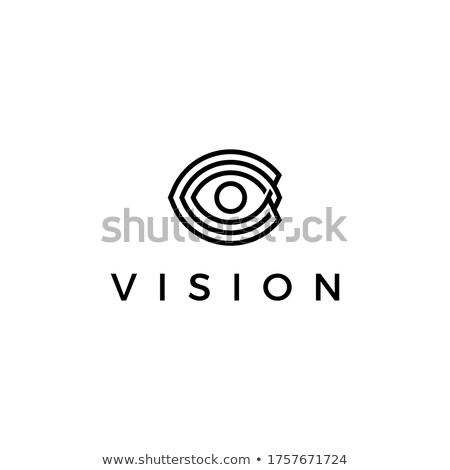 avenir · vision · logo · oeil · affaires · visage - photo stock © viva