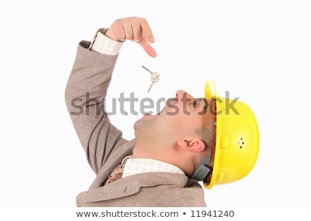 businessman engulf keys Stock photo © vladacanon