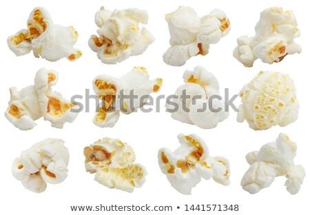 popcorn · geïsoleerd · zoete · witte - stockfoto © Givaga