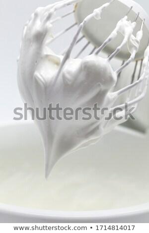 Fém habaró fehér háttér konyha szín Stock fotó © zkruger