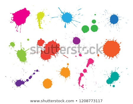 Vector color spots Stock photo © orson