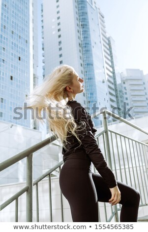 tall skinny blond Stock photo © pdimages