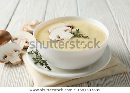 cream of mushroom stock photo © olira
