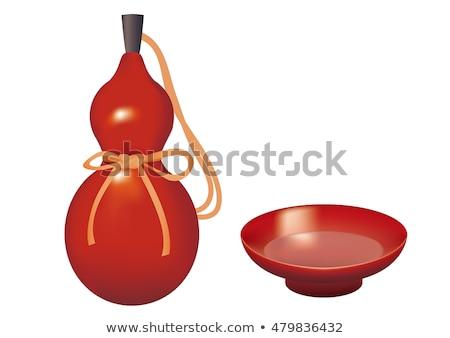 Oriental bottle gourd decoration  Stock photo © calvste