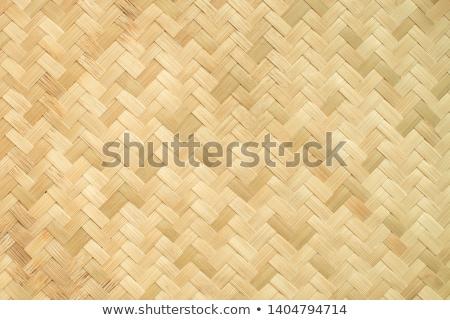 Paja textura nido pequeño oro brillo Foto stock © posterize