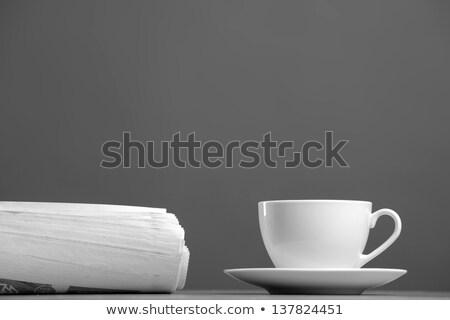 vettore · isometrica · giornale · isolato · bianco · sfondo - foto d'archivio © jossdiim