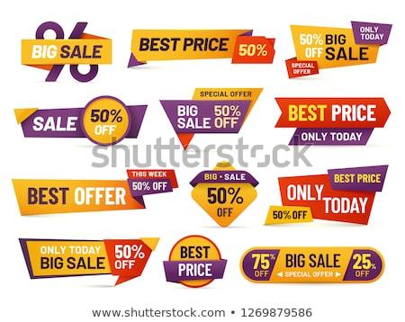 набор · большой · продажи · карт · скидка · место - Сток-фото © orson