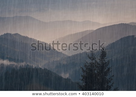 Rain in Mountains Stock photo © THP