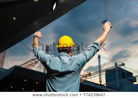 Technician completing planning Stock photo © photography33