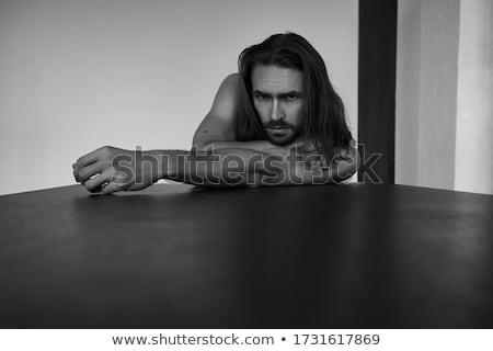 Sexy тело человека красивый Культурист позируют Сток-фото © curaphotography