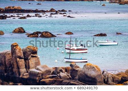 granite coastline Stock photo © smithore
