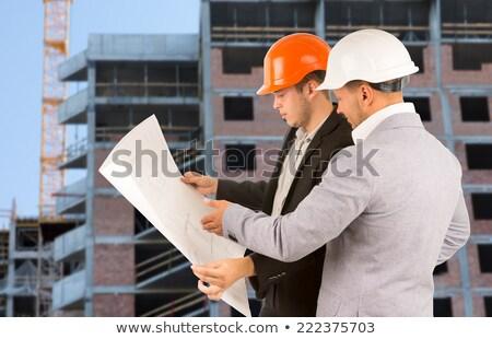 budowy · bezpieczeństwa · okulary · ochronne · listy - zdjęcia stock © lisafx