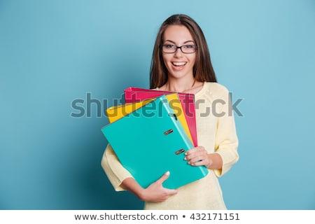 Teens with folders Stock photo © photography33