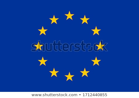 flag of europe isolated over white background stock photo © shutswis