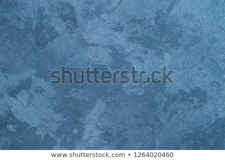 blue structural painted wallpaper on the wall Stock photo © tarczas