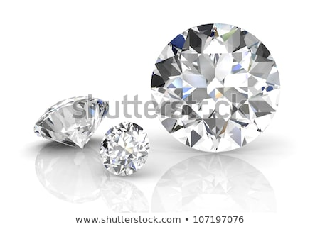 diamond on white background with high quality  Stock photo © DTKUTOO