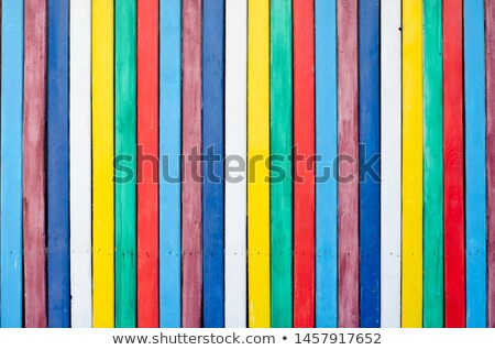 multicolor frame wood panels texture background stock photo © alexmillos