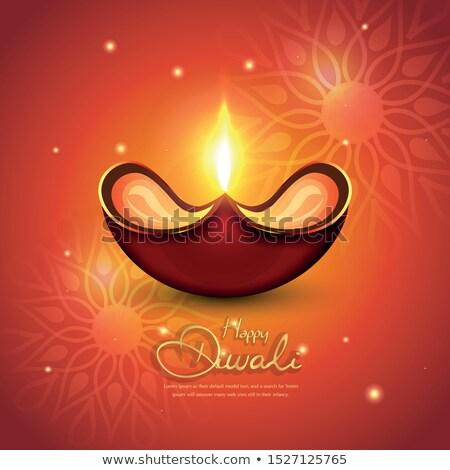 Artistic Diwali Deepak Stock photo © rioillustrator