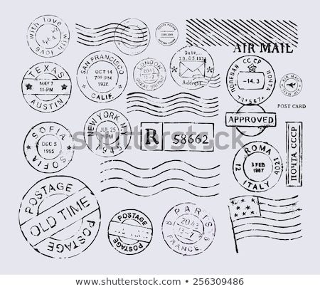 Seamless Texture of Postage Stamps. Stock photo © tashatuvango