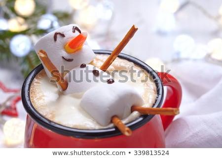 Hot christmas drink Stock photo © MKucova