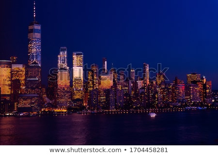 Manhattan · financial · district · binalar · pil · park · New · York - stok fotoğraf © erickn
