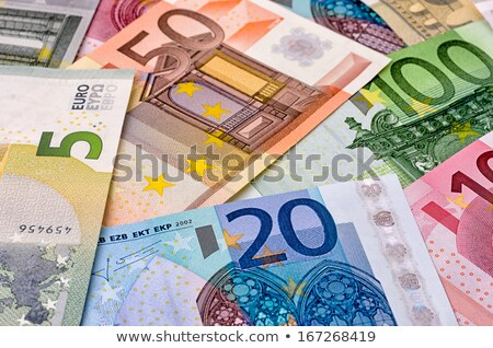 various euro bank notes stock photo © zerbor