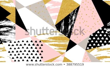 arany · hullám · absztrakt · luxus · végtelen · minta · vonal - stock fotó © creative_stock