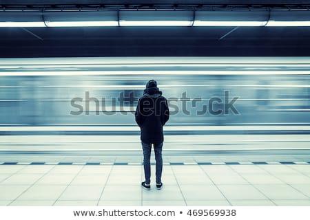 metrô · resumo · negócio · cidade · mulheres · multidao - foto stock © mikko