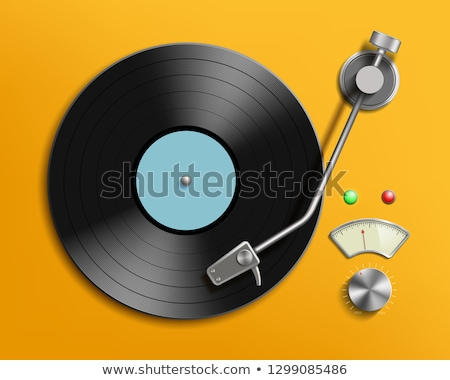 vinyl player background stock photo © lizard